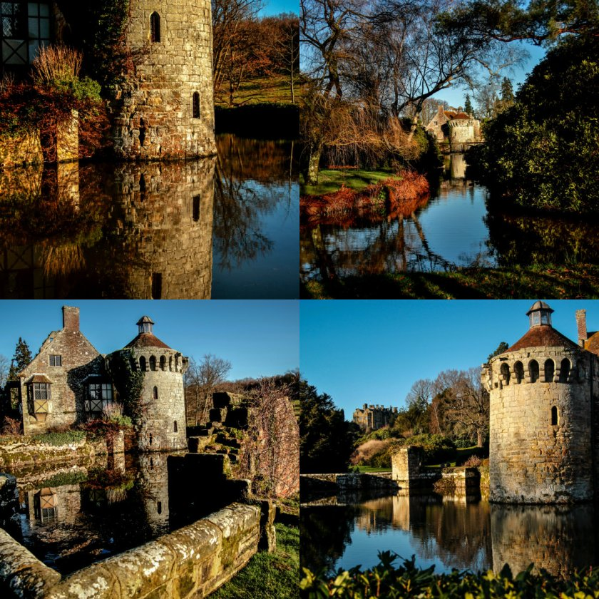 collage scotney castle