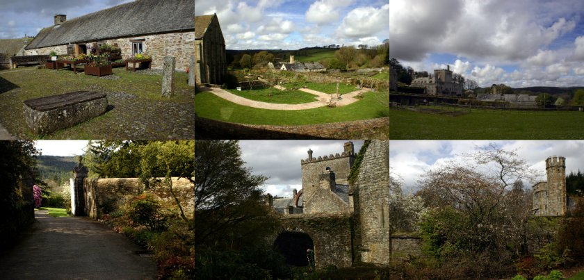 collage Buckland Abbey
