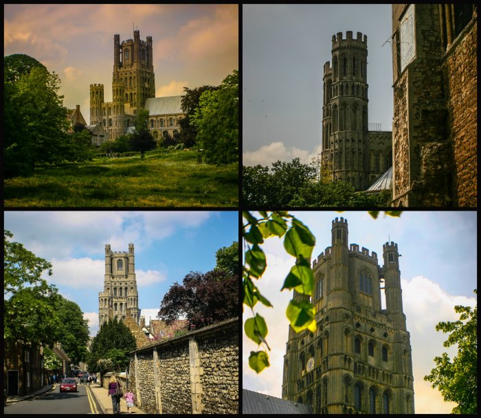 collage wieża