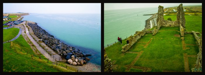 collage reculver widok