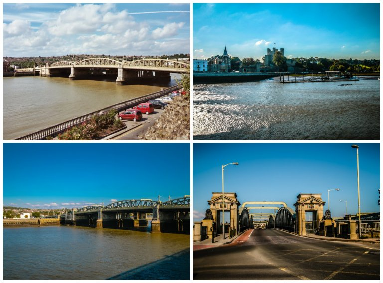 collage rOCHESTER BRIGDE