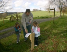 Buckland Abbey- Easter egg hunt1