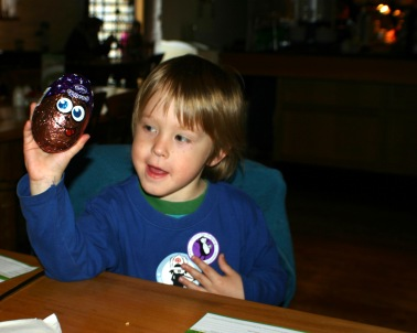 Buckland Abbey- Easter egg hunt9