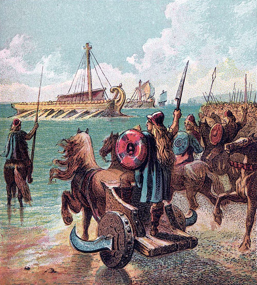 500px-pictures_of_english_history_plate_iii_-_the_romans_conquer_britain
