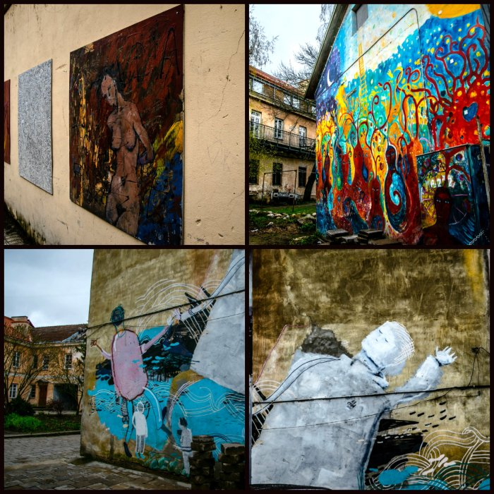 collage Uzupio