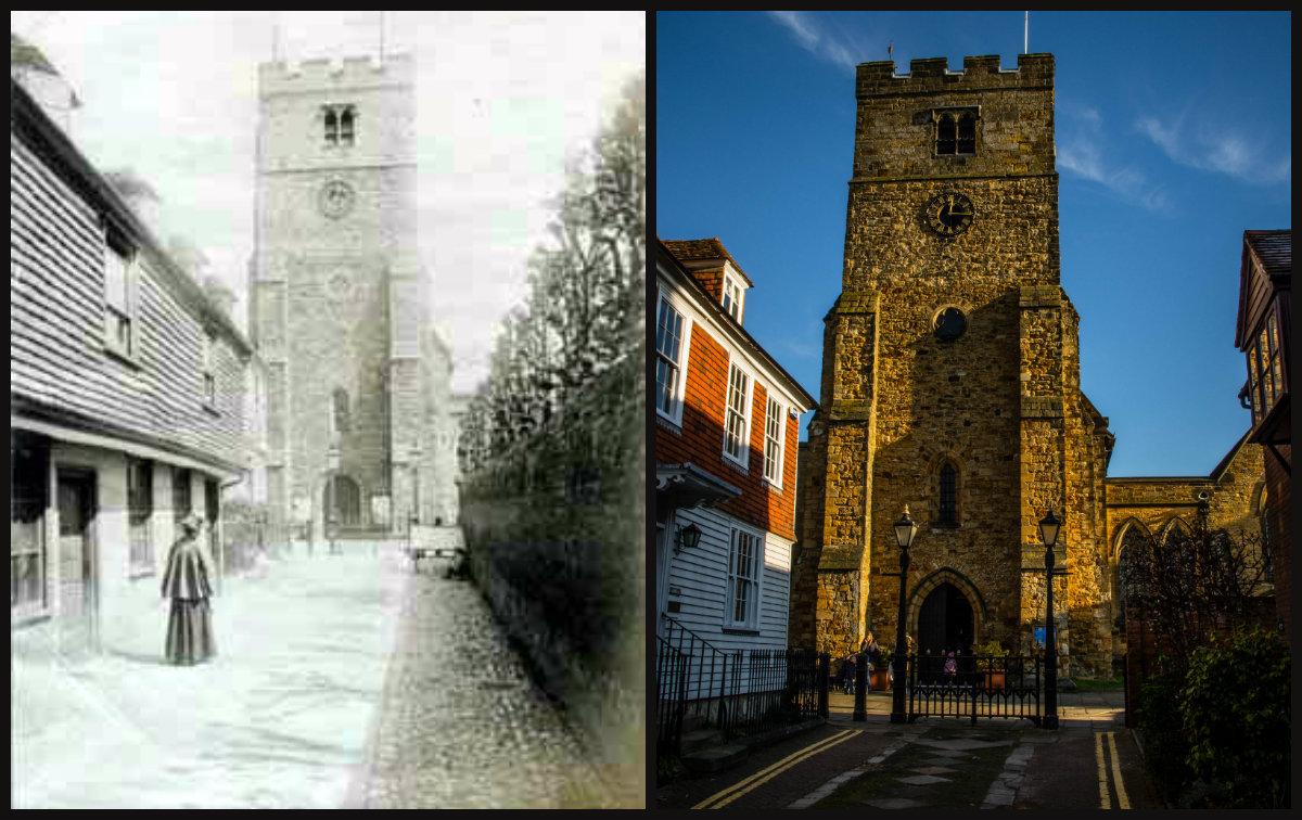 collage kościół