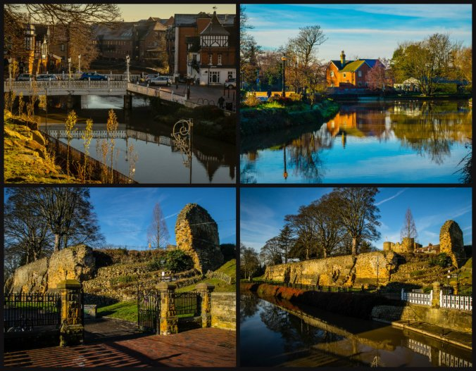 collage rzeka